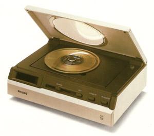 Inventé par Philips, il fut un des premiers supports numériques grand public