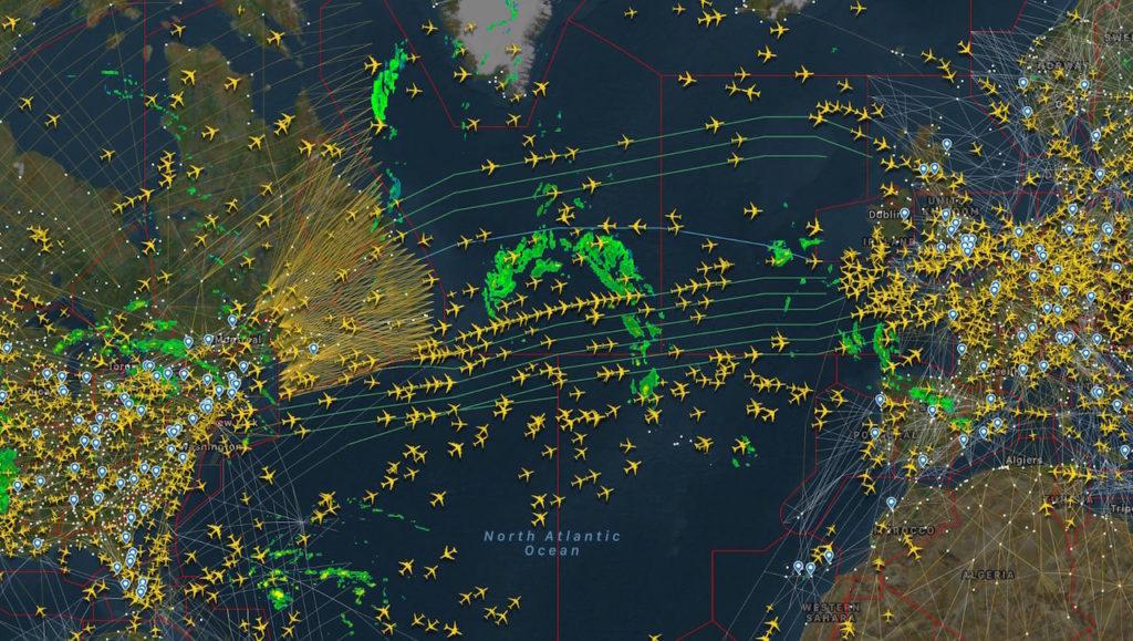 Flightradar Map
