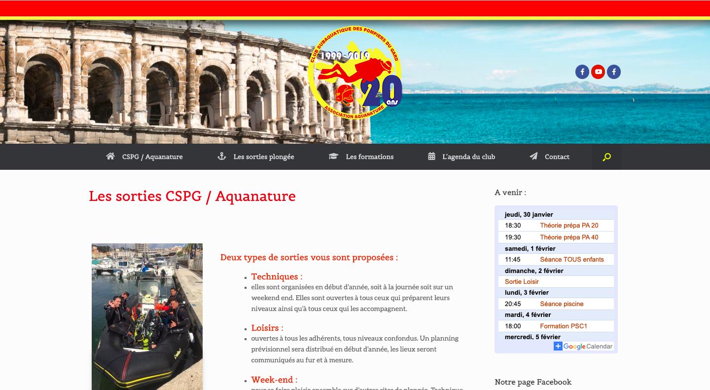 CSPG Aquanature plongée